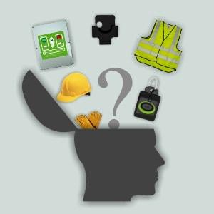¿Qué hacer si los trabajadores se olvidan de usar los dispositivos de seguridad?