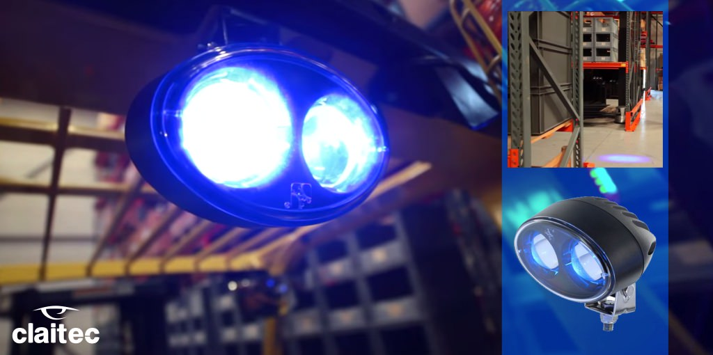 Blue spot safety light