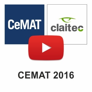 Claitec at CeMAT 2016: Thank you to everyone who visited us!
