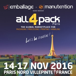 ALL4PACK Paris 2016