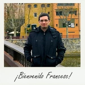 ¡Bienvenido Francesc!