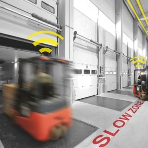 LSA: an assistant to help you decelerate on loading docks