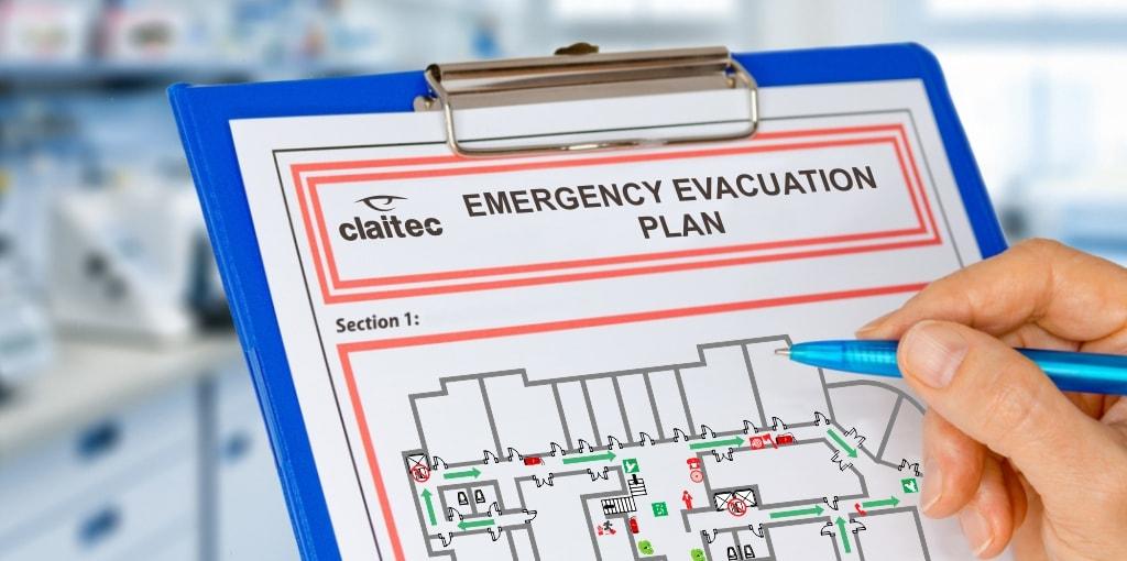how to create an evacuation plan